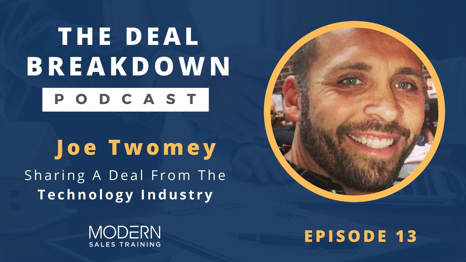 The-Deal-Breakdown-Podcast-Modern-Sales-Training-Joe-Twomey