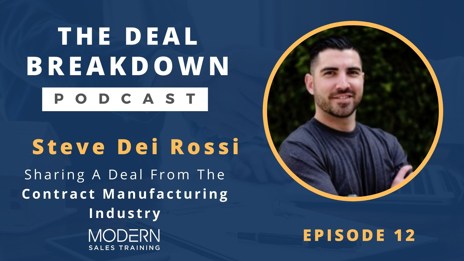The-Deal-Breakdown-Podcast-Modern-Sales-Training-Steve-Dei-Rossi