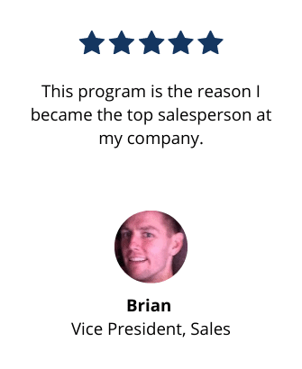Modern Sales Training course testimonial