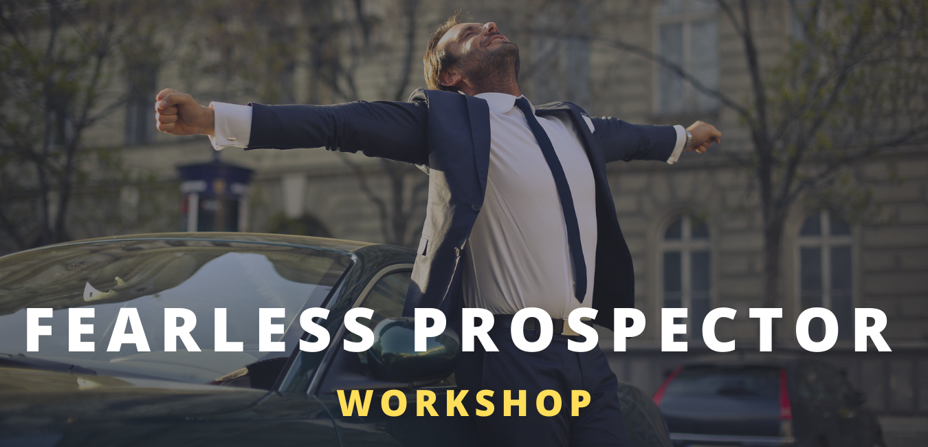 The Fearless Prospector Virtual Workshop from Modern Sales Training