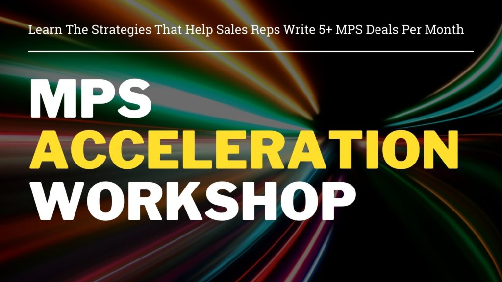 MPS Acceleration Workshop by Modern Sales Training