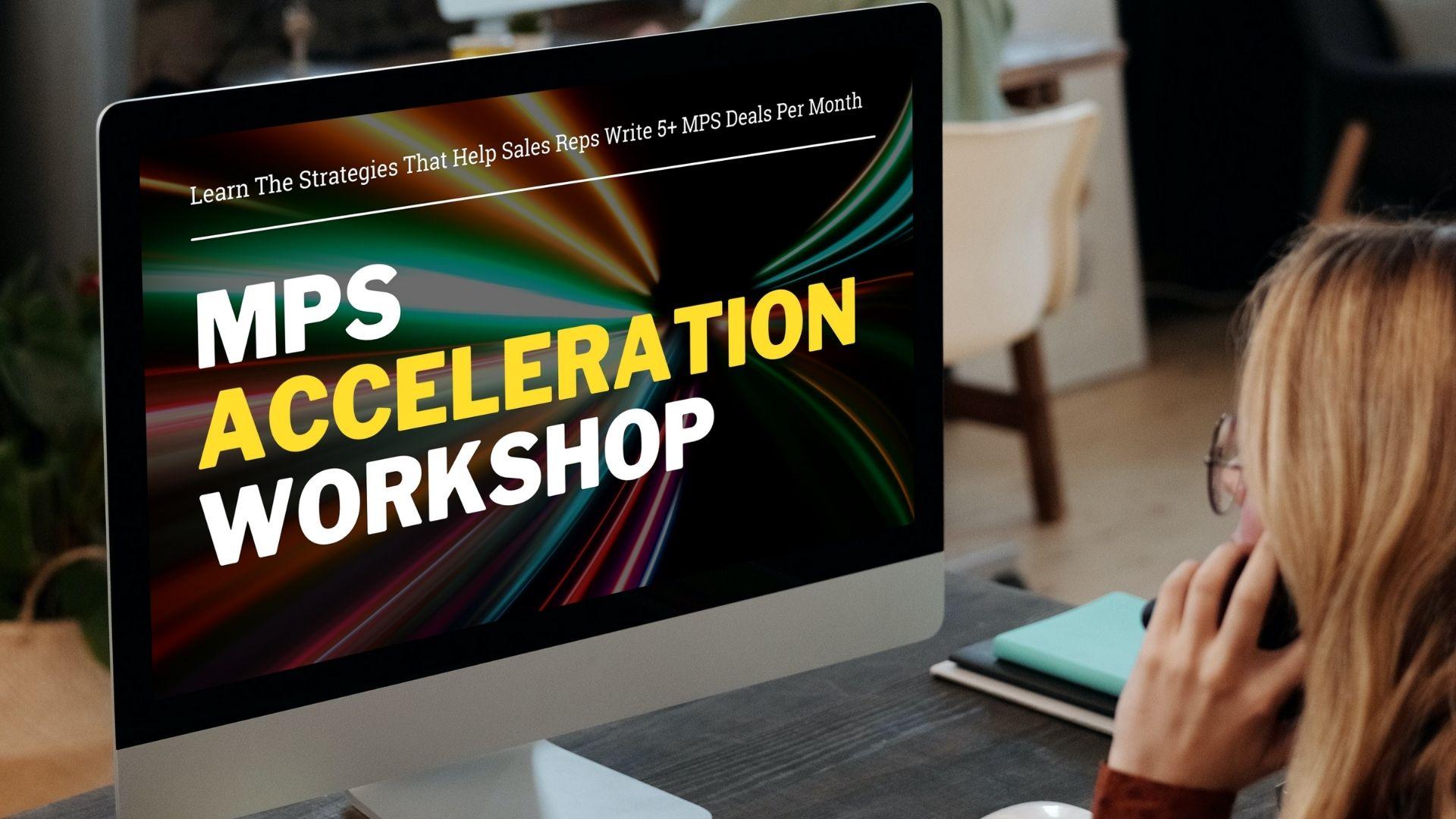 MPS Workshop Modern Sales Training