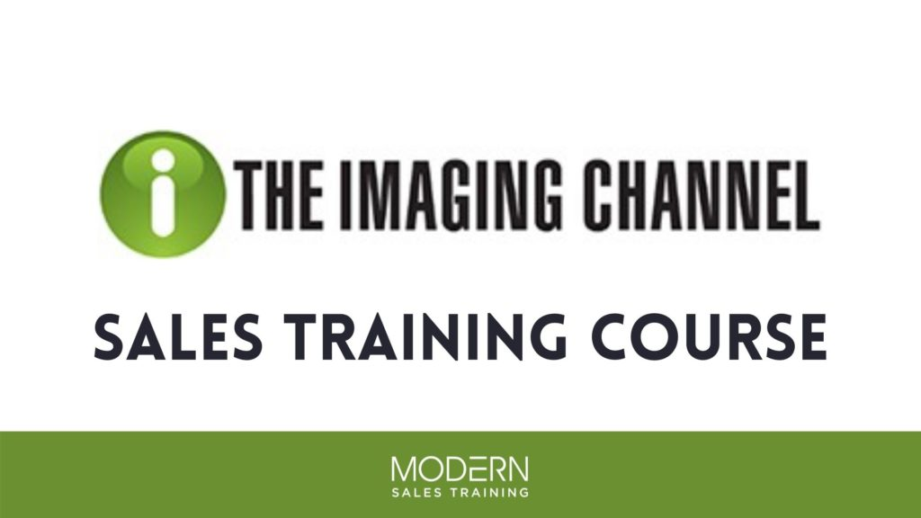 The Imaging Channel Sales Training Course